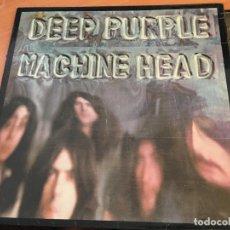 Discos de vinilo: DEEP PURPLE (MACHINE HEAD) LP UK 1972 TPSA 7504 ORIGINAL (VIN-A6). Lote 128791479