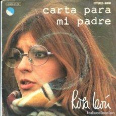 Discos de vinilo: ROSA LEON / CARTA PARA MI PADRE / PARA TI, QUE ESTAS TRISTE (SINGLE 1974). Lote 128801071