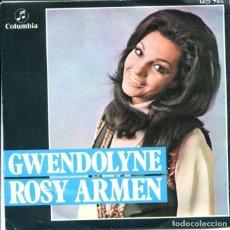 Discos de vinilo: ROSY ARMEN / GWENDOLYNE / PASTERNAK (SINGLE 1970). Lote 128801507