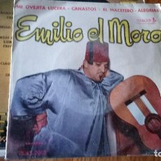 Discos de vinilo: EMILIO EL MORO 1961-VENTA MINIMA 5 EU--. Lote 128802587