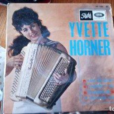 Discos de vinilo: YVETTE HORNER. Lote 128803003