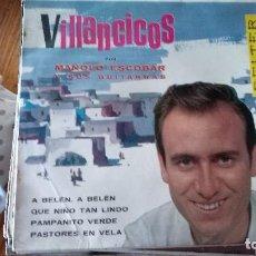 Discos de vinilo: MANOLO ESCOBAR VILLANCICOS-VENTA MINIMA 5 EU--. Lote 128803147