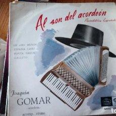 Discos de vinilo: JOAQUIN GOMAR-VENTA MINIMA 5 EU--. Lote 128803867