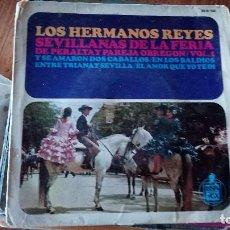 Discos de vinilo: LOS HERMANOS REYES-VENTA MINIMA 5 EU--. Lote 128804287