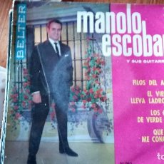 Discos de vinilo: MANOLO ESCOBAR-VENTA MINIMA 5 EU--. Lote 128804359