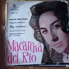 Discos de vinilo: MACARENA DEL RIO. Lote 128804911
