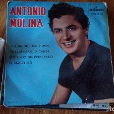 Discos de vinilo: ANTONIO MOLINA--- VENTA MINIMA 5 EU--. Lote 128805691