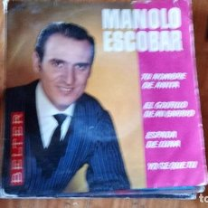 Discos de vinilo: MANOLO ESCOBAR TU NOMBRE DE ANITA+3-VENTA MINIMA 5 EU--. Lote 128806183