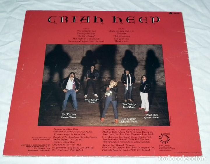 Lp Uriah Heep Abominog Buy Vinyl Records Lp Heavy Metal Music At Todocoleccion 128810087