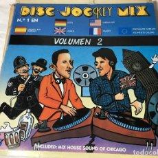 Discos de vinilo: DISCO LP DISC JOKEY MIX. Lote 128829671