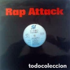 Discos de vinilo: RAP ATTACK - LP MIXED KEY RECORDS SPAIN 1987. Lote 128831915