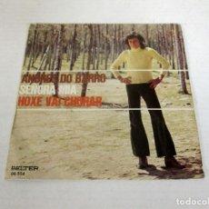 Discos de vinilo: ANDRES DO BARRO - SEÑORA MIA + HOXE VAI CHORAR -SINGLE- BELTER 1973 SPAIN 08.554 EXCELENTE. Lote 128849051
