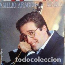 Discos de vinilo: EMILIO ARAGON - MARIA - 7 SINGLE - AÑO 1991. Lote 128879795