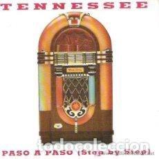 Discos de vinilo: TENNESSE - PASO A PASO - 7 SINGLE - AÑO 1993. Lote 128880095