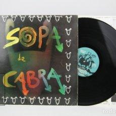 Discos de vinilo: DISCO LP DE VINILO - SOPA DE CABRA / EL BOIG DE LA CIUTAT... - SALSETA DISCOS - AÑO 1989. Lote 128886202