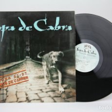 Discos de vinilo: DISCO LP DE VINILO - SOPA DE CABRA / SOMNIS DE CARRER - ENCARTE CON LETRAS - SALSETA DISCOS ,1991. Lote 128886311