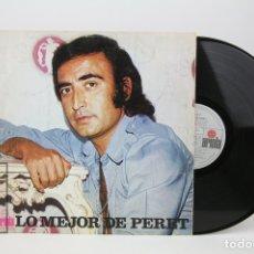 Discos de vinilo: DISCO LP DE VINILO - LO MEJOR DE PERET - EDICIÓN ESPECIAL CAJA SAGRADA FAMILIA - ARIOLA - AÑO 1974. Lote 128886491