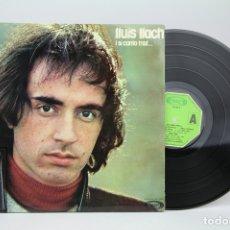 Discos de vinilo: DISCO LP DE VINILO - LLUIS LLACH / I SI CANTO TRIST - MOVIE PLAY - AÑO 1974. Lote 128886951