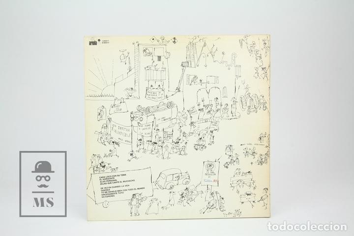 Discos de vinilo: Disco LP De Vinilo - Joan Manuel Serrat / Cada loco Con Su Tema - Encarte Con Letras - Ariola, 1983 - Foto 4 - 128887122