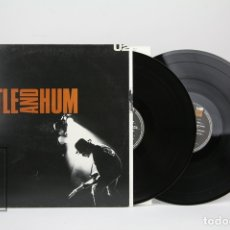 Discos de vinilo: DOBLE DISCO LP DE VINILO - U2 / RATTLE AND HUM - CON ENCARTES - ISLAND RECORDS - AÑO 1988. Lote 128887402