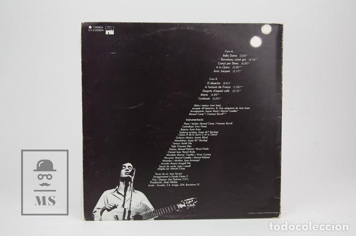 Discos de vinilo: Disco LP De Vinilo - Joan Isaac / Barcelona Ciutat Gris - Con Encarte - Ariola - Año 1980 - Foto 4 - 128887562
