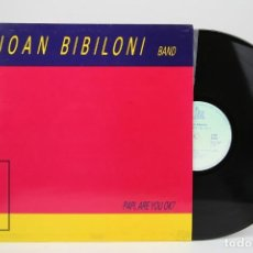 Discos de vinilo: DISCO LP DE VINILO - JOAN BIBILONI BAND / PAPI ARE YOU OK? - BLAU - AÑO 1986. Lote 128888515