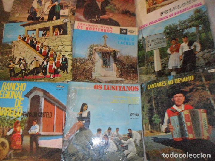 LOTE DE 10 EP'S DE MUSICA FOLKLORICA PORTUGUESA - FOLK PORTUGUES - AÑOS 60'S (Música - Discos de Vinilo - EPs - Étnicas y Músicas del Mundo)