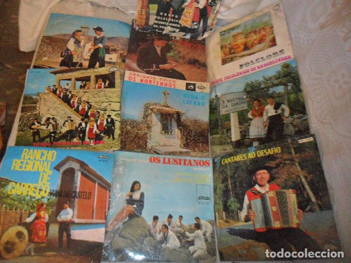 Discos de vinilo: LOTE DE 10 EPS DE MUSICA FOLKLORICA PORTUGUESA - FOLK PORTUGUES - AÑOS 60S - Foto 2 - 128896879
