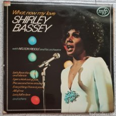 Discos de vinilo: LP SHIRLEY BASSEY WHAT NOW MY LOVE. Lote 128900138