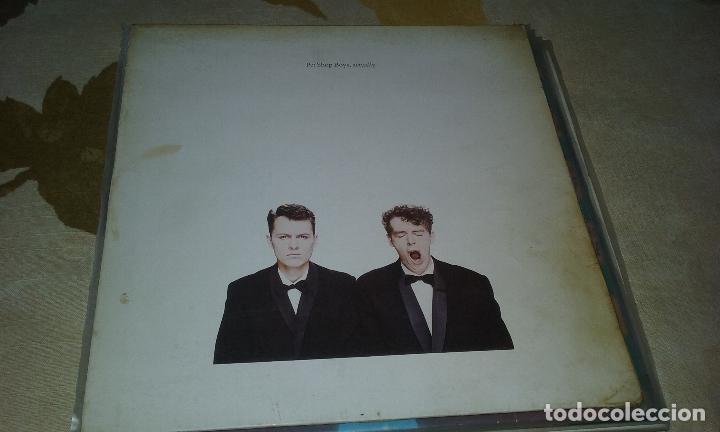 LP PET SHOP BOYS. ACTUALLY. EMI 1990 (Música - Discos - LP Vinilo - Pop - Rock Extranjero de los 90 a la actualidad)