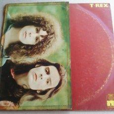 Discos de vinilo: T · REX - TYRANNOSAURUS REX - LP - 1971 - ESPAÑA - BUEN ESTADO. Lote 128915291