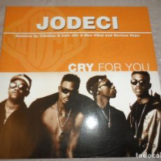 Discos de vinilo: JODECI - CRY FOR YOU. Lote 128915347