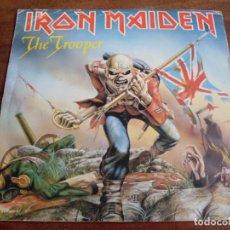 Discos de vinilo: IRON MAIDEN - THE TROOPER - SINGLE EMI 1983 EDICION ESPAÑOLA. Lote 128917887