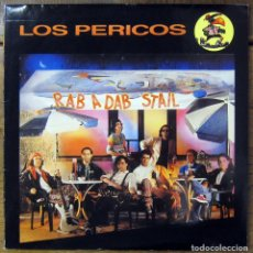 Discos de vinilo: LOS PERICOS - RAB A DAB STAIL - 1990, CON ENCARTE - ARGENTINA, REGGAE. Lote 128919335