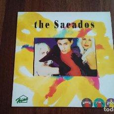 Discos de vinilo: THE SACADOS-LP. Lote 140890522