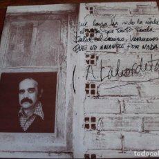 Discos de vinilo: LABORDETA - QUE NO AMANECE POR NADA - LP MOVIEPLAY AÑO 1978. Lote 128935483
