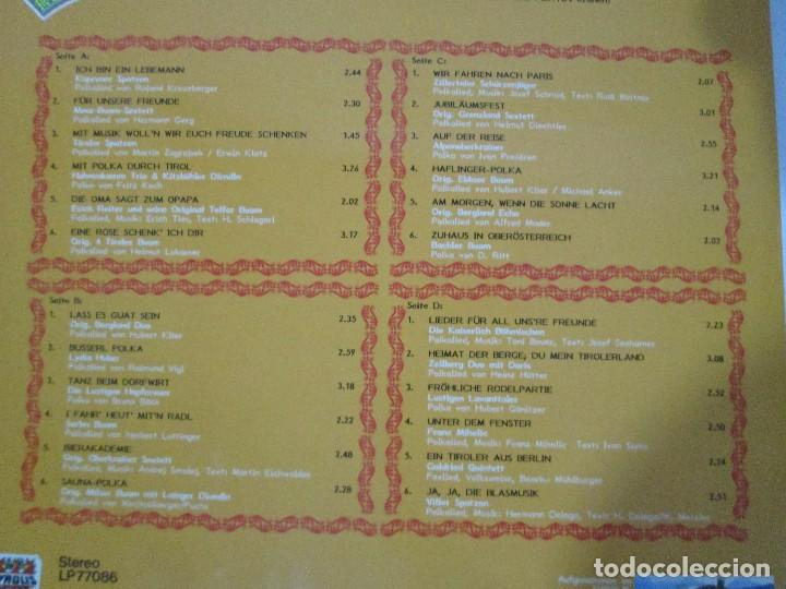 Discos de vinilo: 24 VOLKSTÜMLICHE MUSIKANTEN. BELIEBT UND BEKANNT DURCH. RUNDFUNK UND FERNSEHEN. 2 LP VINILO - Foto 13 - 128944583