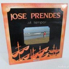 Discos de vinilo: JOSE PRENDES. A TIEMPO. DEDICADO A LUIS DE VAL POR AUTOR. LP VINILO. SOCIEDAD FONOGRAFICA ASTURIANA. Lote 128944815