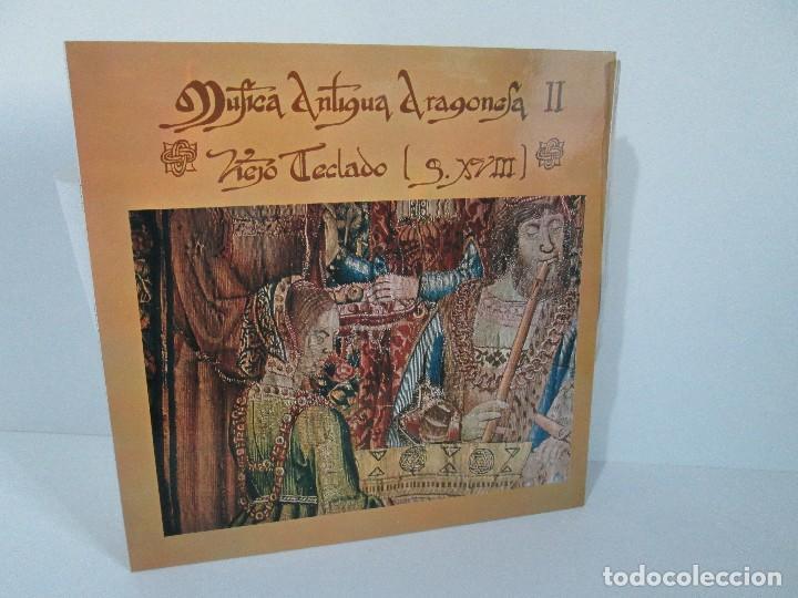 MUSICA ANTIGUA ARAGONESA II. VIEJO TECLADO S. XVIII. LP VINILO. MOVIEPLAY 1978. VER FOTOGRAFIAS (Música - Discos - LP Vinilo - Étnicas y Músicas del Mundo)