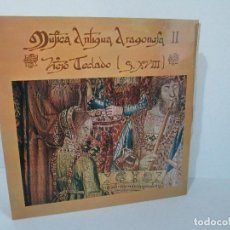 Discos de vinilo: MUSICA ANTIGUA ARAGONESA II. VIEJO TECLADO S. XVIII. LP VINILO. MOVIEPLAY 1978. VER FOTOGRAFIAS. Lote 128944935
