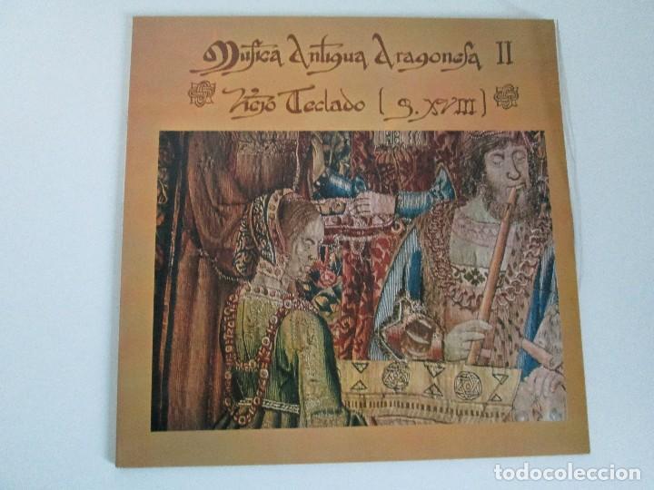 Discos de vinilo: MUSICA ANTIGUA ARAGONESA II. VIEJO TECLADO S. XVIII. LP VINILO. MOVIEPLAY 1978. VER FOTOGRAFIAS - Foto 2 - 128944935