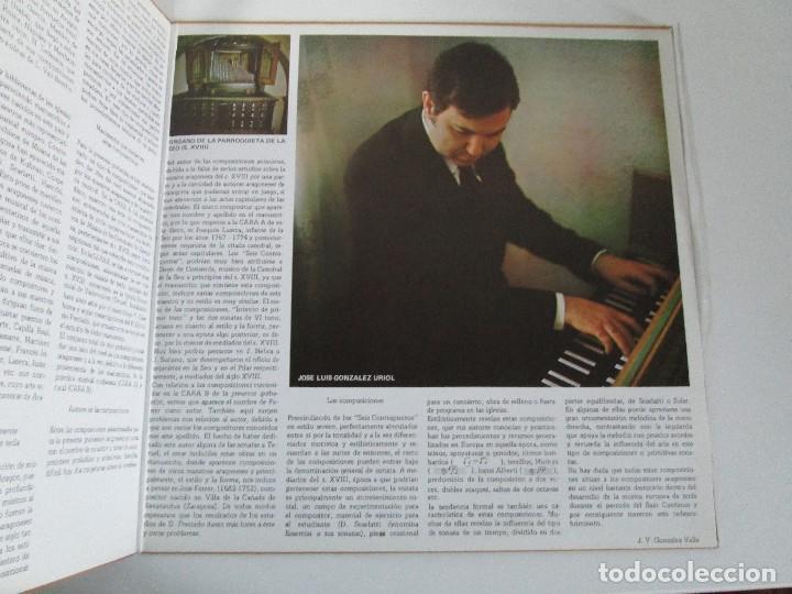 Discos de vinilo: MUSICA ANTIGUA ARAGONESA II. VIEJO TECLADO S. XVIII. LP VINILO. MOVIEPLAY 1978. VER FOTOGRAFIAS - Foto 4 - 128944935