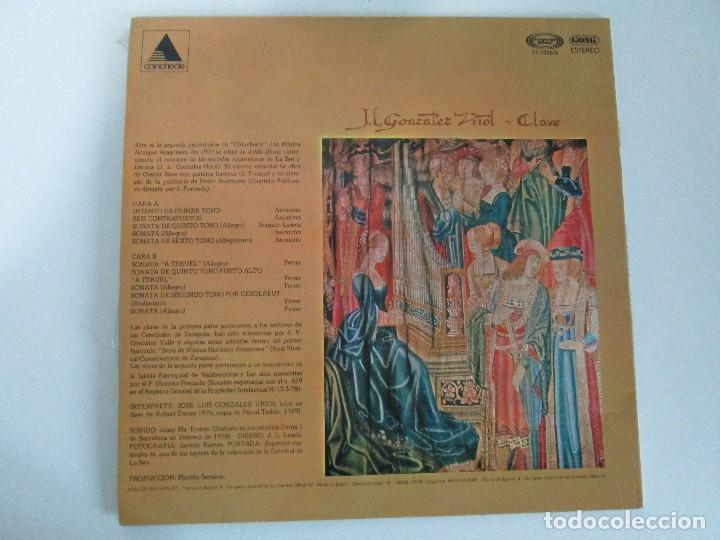 Discos de vinilo: MUSICA ANTIGUA ARAGONESA II. VIEJO TECLADO S. XVIII. LP VINILO. MOVIEPLAY 1978. VER FOTOGRAFIAS - Foto 10 - 128944935