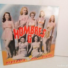 Discos de vinilo: HOMBRES G. HISTORIA DEL BIKINI. LP VINILO. SONY MUSIC. GASA 1992. VER FOTOGRAFIAS ADJUNTAS. Lote 128945879