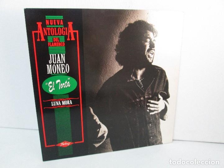 JUAN MONEO EL TORTA. LUNA MORA. NUEVA ANTOLOGIA DEL FLAMENCO. LP VINILO. TWINS 1989. VER FOTOS (Música - Discos - LP Vinilo - Flamenco, Canción española y Cuplé)