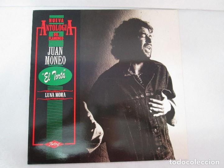 Discos de vinilo: JUAN MONEO EL TORTA. LUNA MORA. NUEVA ANTOLOGIA DEL FLAMENCO. LP VINILO. TWINS 1989. VER FOTOS - Foto 2 - 128947159