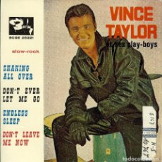 Discos de vinilo: VINCE TAYLOR ET SES PLAY-BOYS SHAKING ALL OVER EP 1961. Lote 128951655