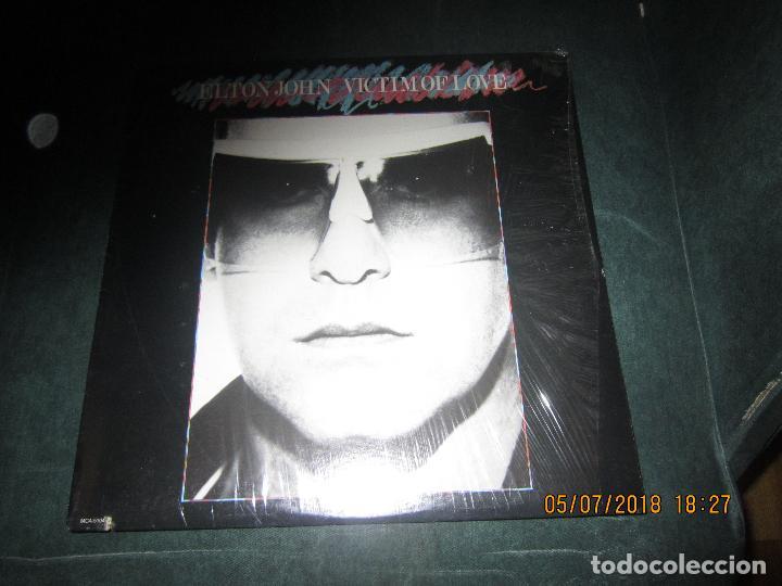 ELTON JOHN - VICTIM OF LOVE LP - ORIGINAL U.S.A. - MCA RECORDS 1979 CON FUNDA INT. ORIGINAL (Música - Discos - LP Vinilo - Pop - Rock - Extranjero de los 70)