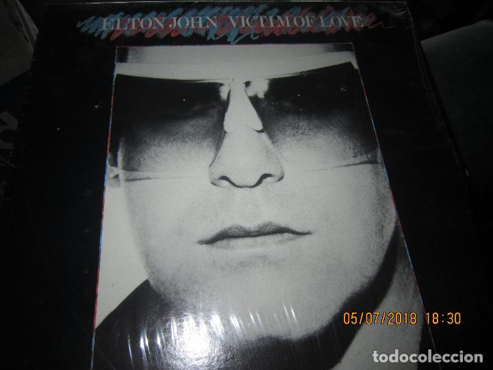 Discos de vinilo: ELTON JOHN - VICTIM OF LOVE LP - ORIGINAL U.S.A. - MCA RECORDS 1979 CON FUNDA INT. ORIGINAL - Foto 10 - 128961355