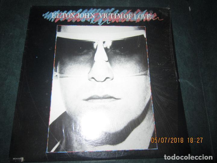Discos de vinilo: ELTON JOHN - VICTIM OF LOVE LP - ORIGINAL U.S.A. - MCA RECORDS 1979 CON FUNDA INT. ORIGINAL - Foto 21 - 128961355